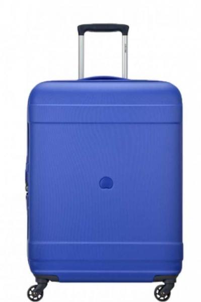 Troler Delsey Indiscrete Hard 66 cm albastru 0