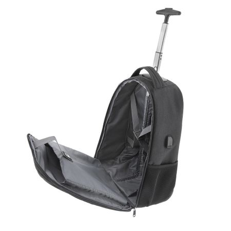 "Troler laptop Tellur Rolly 15.6"", USB, negru Inbagaj 1"
