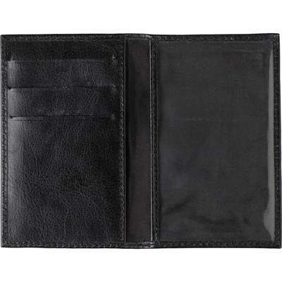 Portofel carti de credit din piele ecologica cu protectie RFID 1