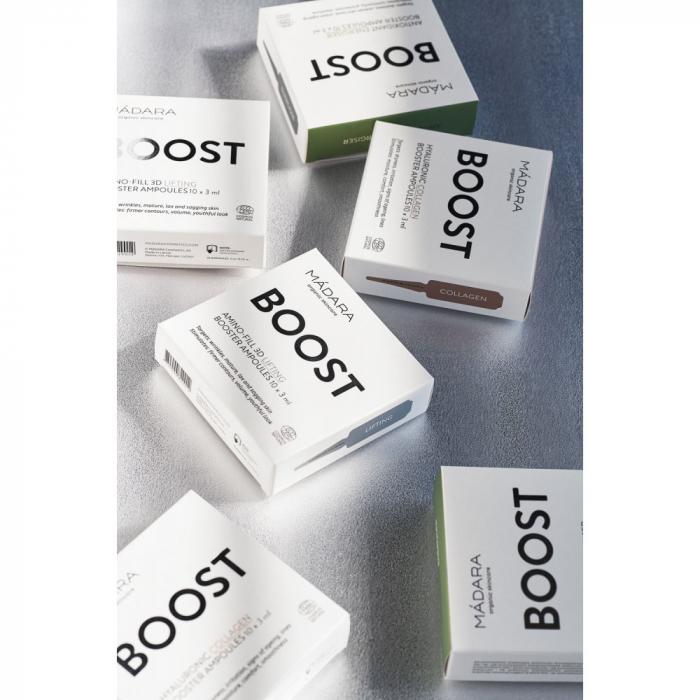 BOOSTER Fiole – AMINO-FILL 3D LIFTING Madara 30ml inbagaj 1