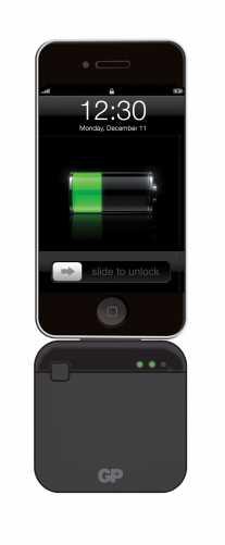 Acumulator portabil powerbank 1750mAh, negru, GP 2