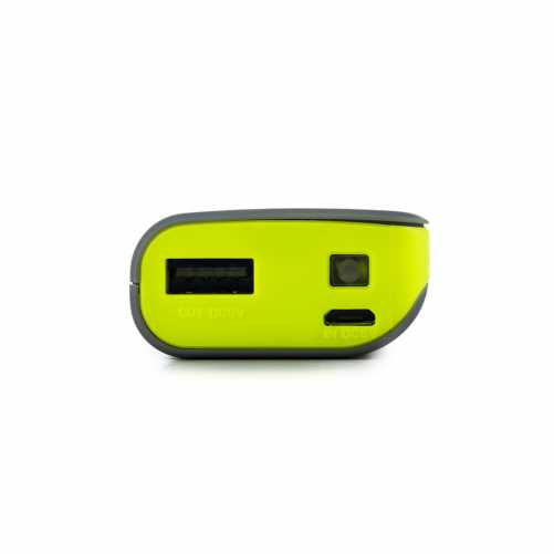 Acumulator portabil powerbank 4000mAh 5V 1A, negru/galben 2