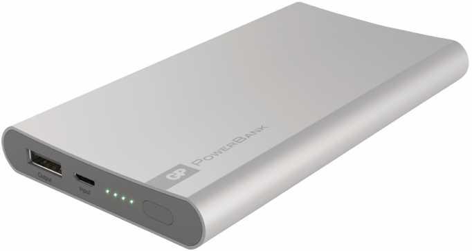 Acumulator portabil powerbank 5000mAh, argintiu, GP 1