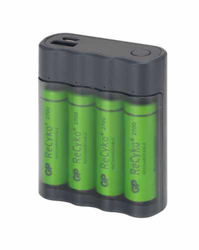 Acumulator portabil powerbank Charge Anyway 4 x 2700mAh, GP 1