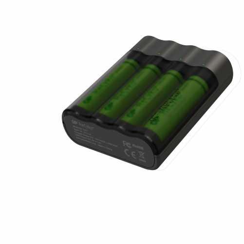 Acumulator portabil powerbank Charge Anyway 4 x 2700mAh, GP 0