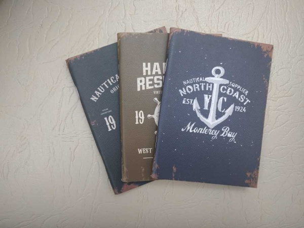 Notebook 24 file motive Navy North Coast 0