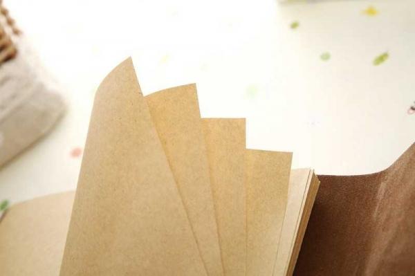 Agenda/Notebook Vintage de calatorie piele ecologica maro deschis 2