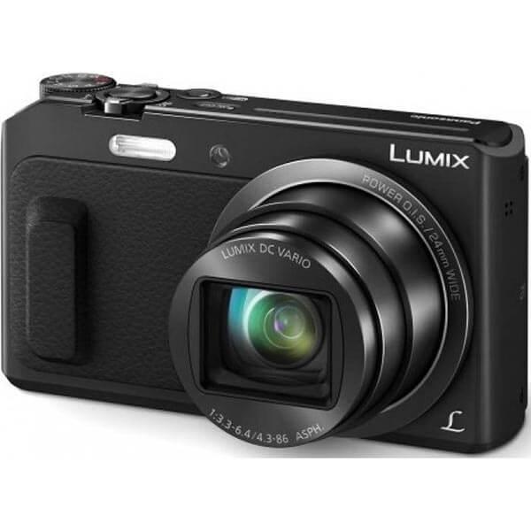 Camera foto Panasonic DMC-TZ57EP-K, neagra 0
