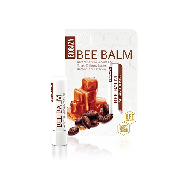 Balsam de buze natural Toffee & Cocoa butter 0