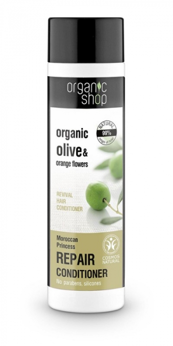 Balsam de par reparator cu portocala si maslin Moroccan Princess, 280 ml - Organic Shop inbagaj 0