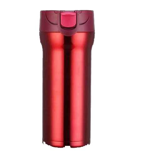 Cana cafea de calatorie 350 ml, termoizolanta - Rosu 0
