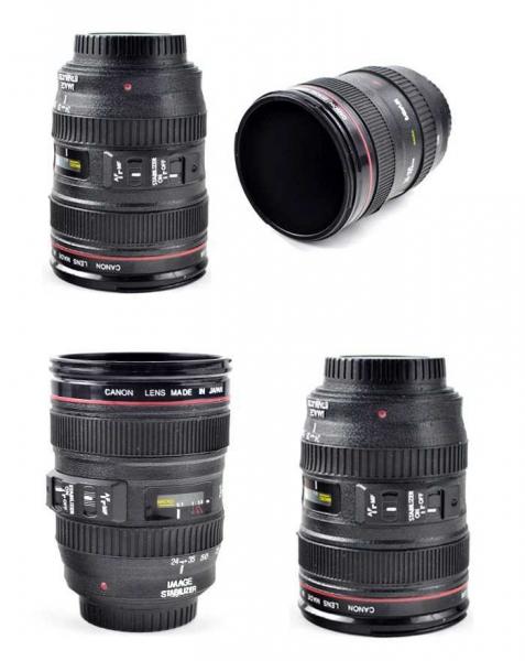 Cana obiectiv aparat foto - Negru - Plastic 3