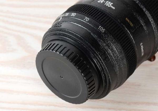 Cana obiectiv aparat foto - Negru - Plastic 1