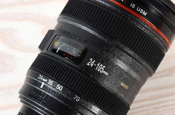 Cana obiectiv aparat foto - Negru - Plastic 2