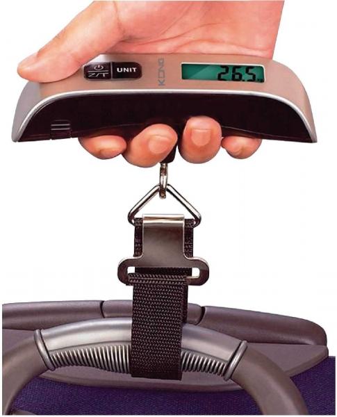 Cantar digital pentru bagaje, Konig, 50kg 3