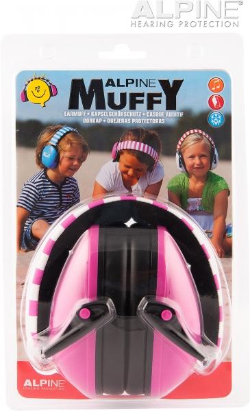 Casti antifonice pentru copii Muffy Roz 2