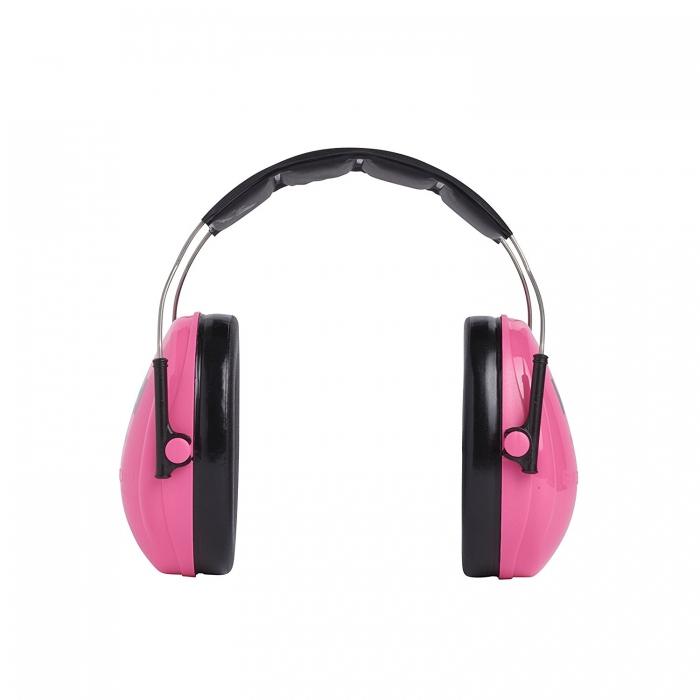 Casti antifonice pentru copii Peltor roz-neon 1