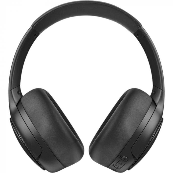 Casti PANASONIC RB-M500BE-K, Extra Bass Wireless, Bass Reactor, around-Ear, negru 1
