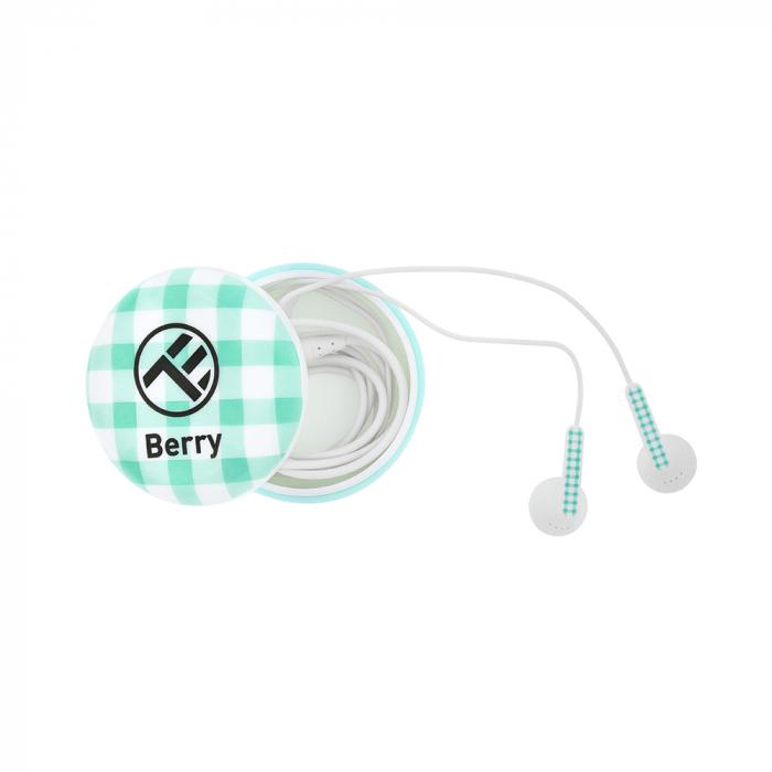 Casti Tellur In-Ear Berry - Albastru 0