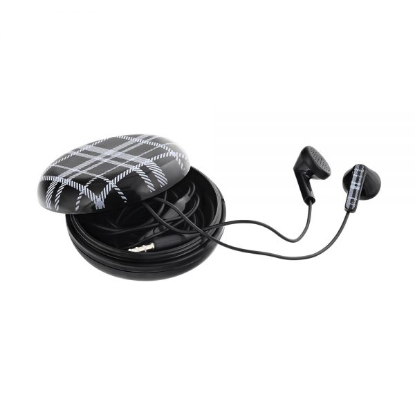 Casti Tellur In-Ear Berry - Negru 2