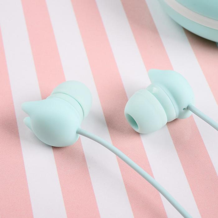 Casti Tellur In-Ear Macaron - Albastru 1