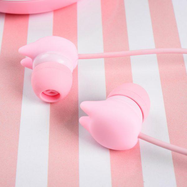 Casti Tellur In-Ear Macaron - Roz 1