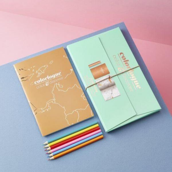 Set cadou jurnal de calatorie