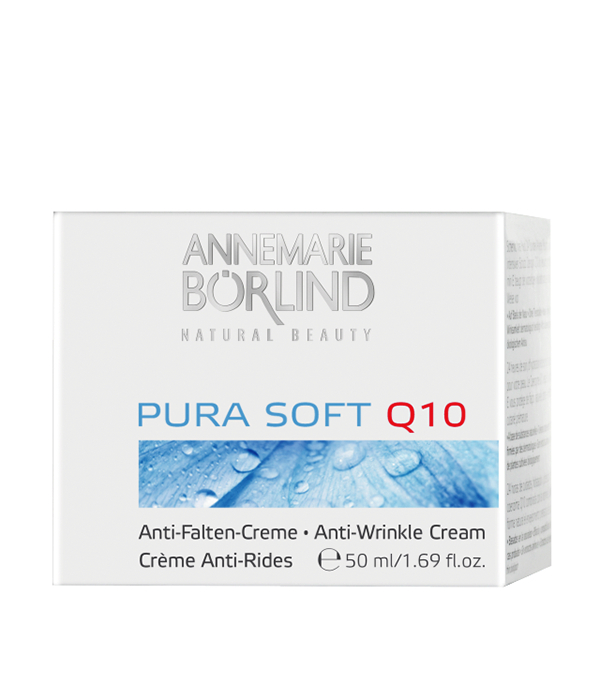Pura Soft Crema antirid cu coenzima Q10, 50 ml - Annemarie Borlind inbagaj 0
