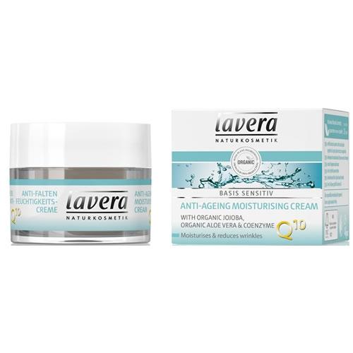 Crema hidratanta antirid cu coenzima Q10 Basis Sensitiv, 50 ml - LAVERA 0