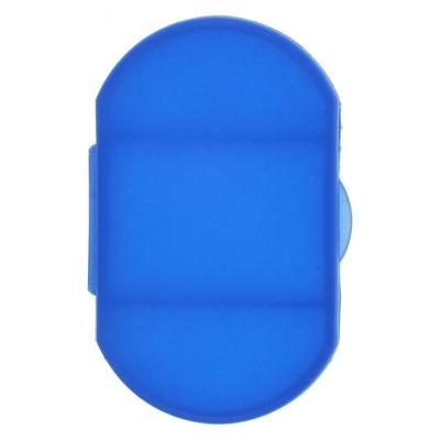 Cutie semitransparenta de pastile, 3 compartimente - Bleumarin [1]