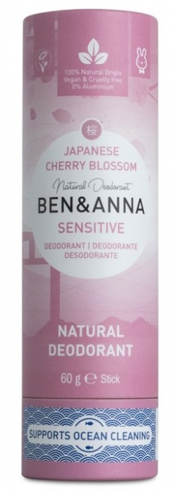 Deodorant stick cu bicarbonat Persian Lime, tub carton 60g - Ben & Anna inbagaj 0