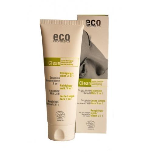Demachiant bio 3 in 1 cu ceai verde, pentru toate tipurile de ten - Eco Cosmetics 1