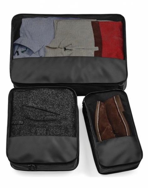 Escape Packing Cubes - Set 3 genti bagaje - Negru 0