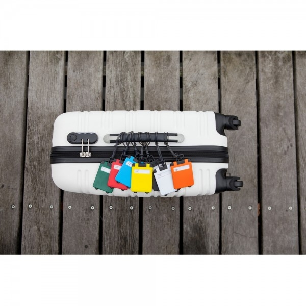 Eticheta Bagaj model Valiza - Portocaliu 2
