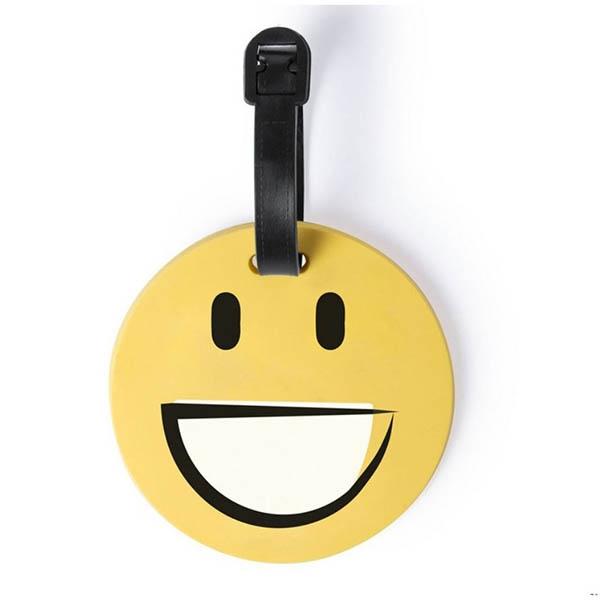 Eticheta de calatorie Smiling Face 0