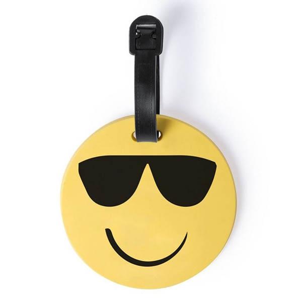 Eticheta de calatorie Smiling Face - Ochelari [0]