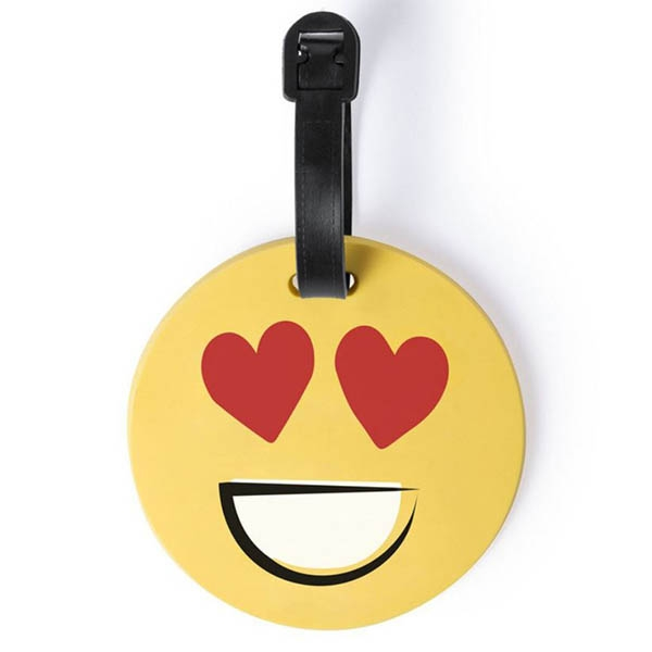 Eticheta de calatorie Smiling Face - Love [0]
