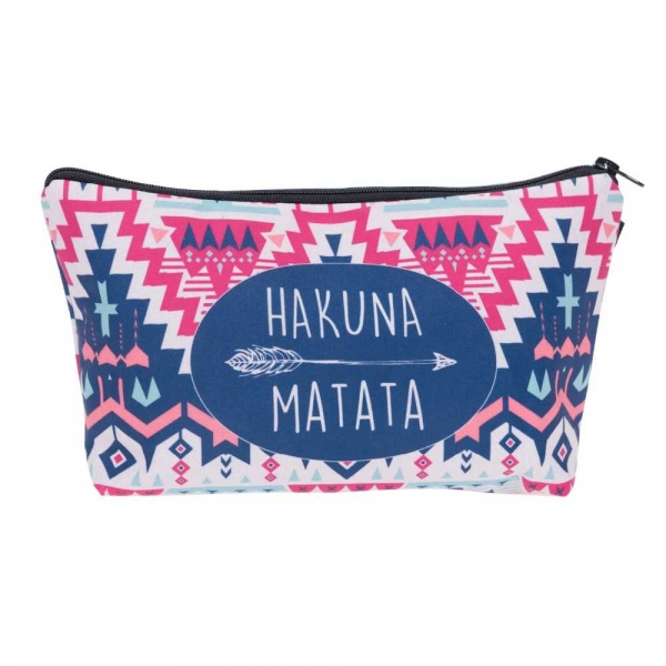 Geanta cosmetice 3D - Hakuna Matata 0
