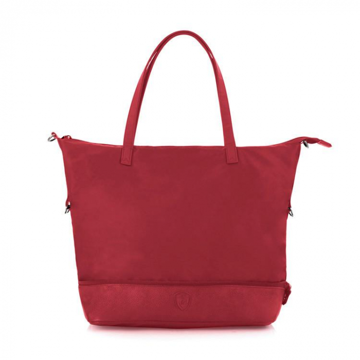 Geanta de calatorie/ cumparaturi HEYS HiLite Zip Packaway - Rosu 0
