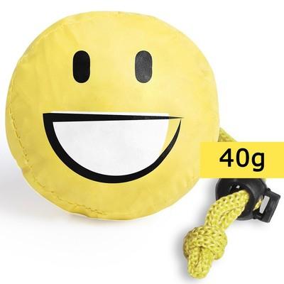 Geanta de cumparaturi pliabila - smiling face (zambet) 0