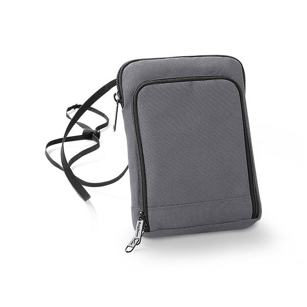 Geanta-portofel pentru calatorii gri 0
