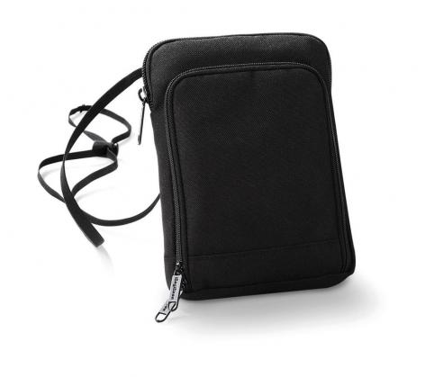 Geanta-portofel pentru calatorii negru 0