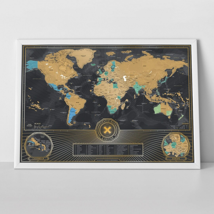 Harta razuibila Editia X Aniversara - produs original Luckies London 3