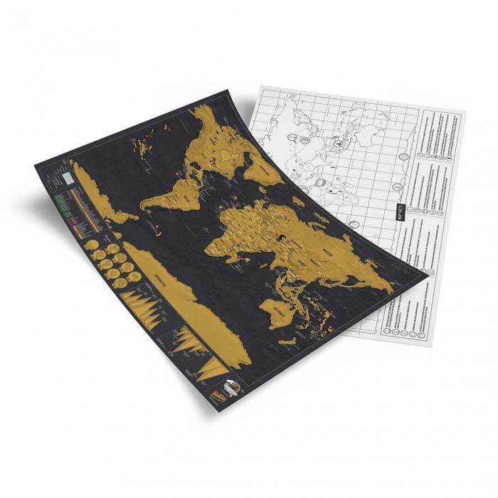 "Harta razuibila Editia ""Curcubeu"" - produs original Luckies London 8"