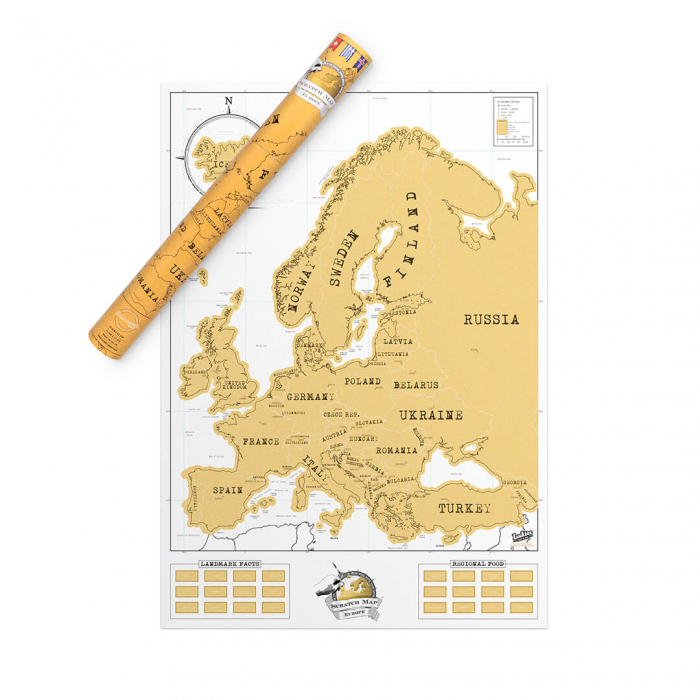 Harta razuibila Editia Europa 0