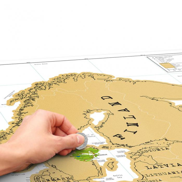Harta razuibila Editia Europa 1
