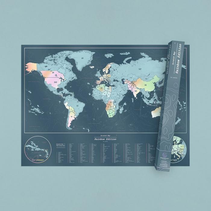 "Harta razuibila Editia ""Curcubeu"" - produs original Luckies London 0"