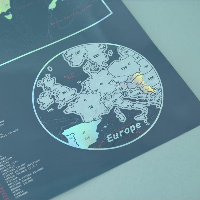 "Harta razuibila Editia ""Curcubeu"" - produs original Luckies London 4"