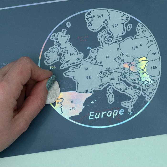 "Harta razuibila Editia ""Curcubeu"" - produs original Luckies London 5"