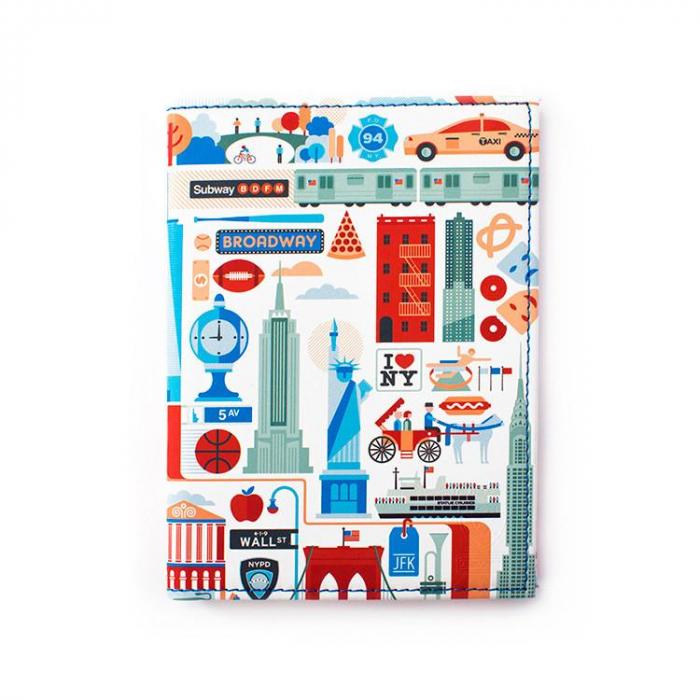 Husa de pasaport Heys New York 1